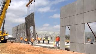 Concrete Tilt Wall Panel Installation