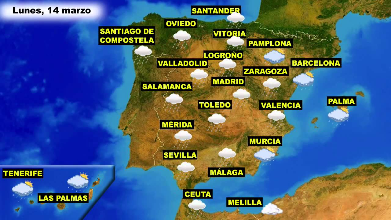 El Tiempo En España Previsión Para Hoy Lunes 14 Y Mañana