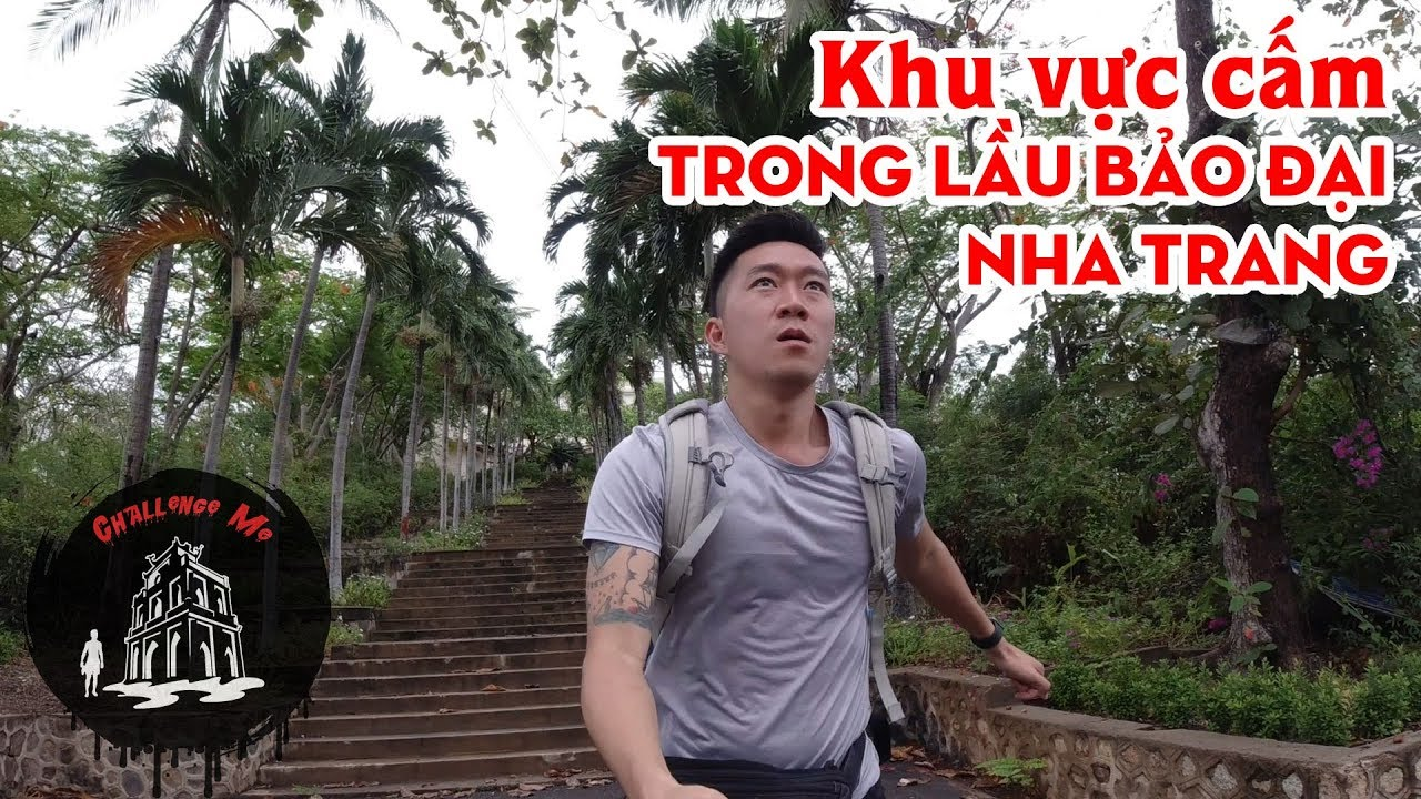 Khu vực cấm trong Lầu Bảo Đại – Nha Trang
