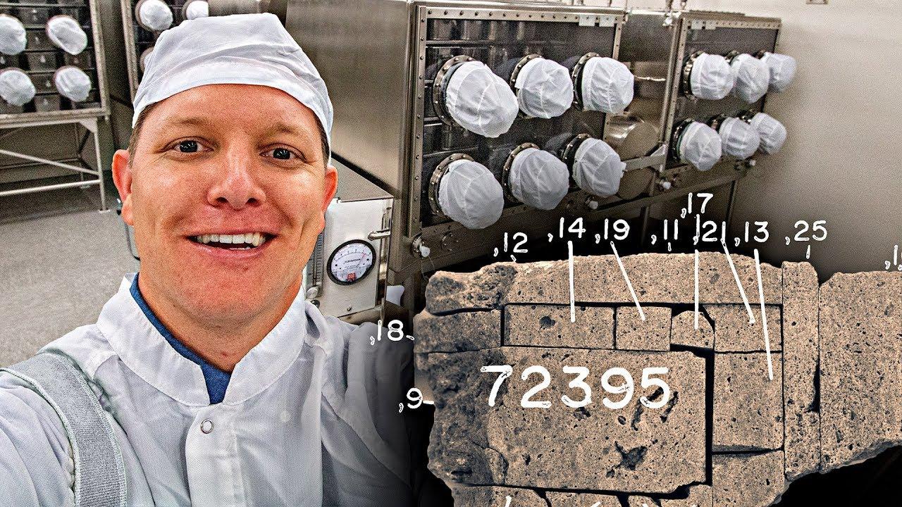 Where does NASA keep the Moon Rocks? - Smarter Every Day 220 image