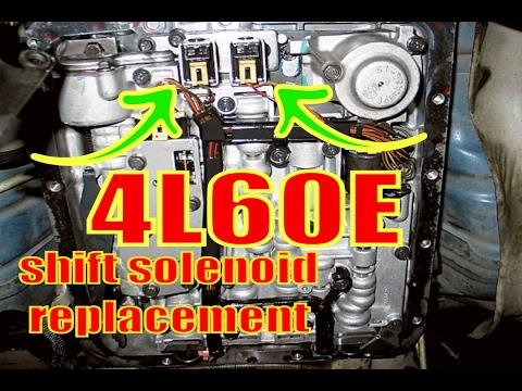 4L60E 12 & 23 shift solenoids A & B solenoids P0756