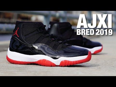 Air Jordan 11 Bred 2019 REVIEW \u0026 On