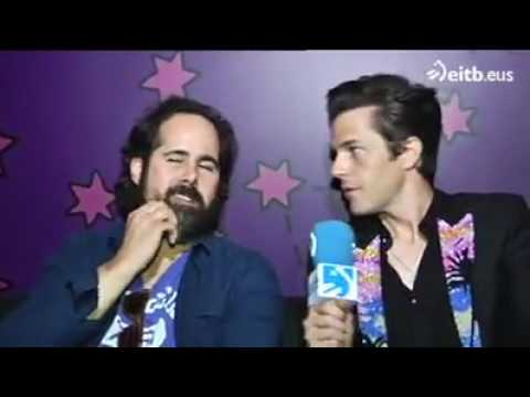 EiTB Interview with Brandon and Ronnie @ Bilbao BBK Live 2017