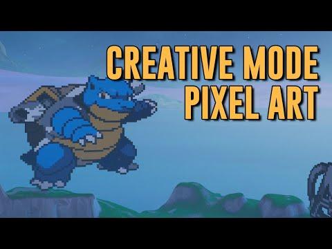 Full Download] Fortnite Creative Pixel Art