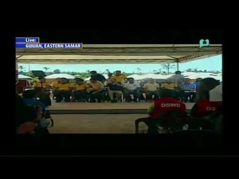President Aquino's Visit to Guiuan, Eastern Samar - PTV Coverage [11/07/14]