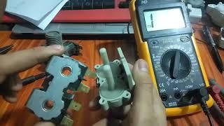 hướng dẫn Sửa van cấp nước máy giặt bị rò nước sửa lỗi 4C,4E,E5,E10,E11,E38,E1,IE,U14