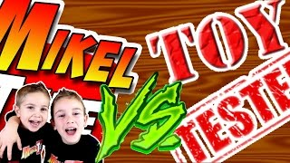 Reto Kinder  MikelTube VS. Toy TESTER