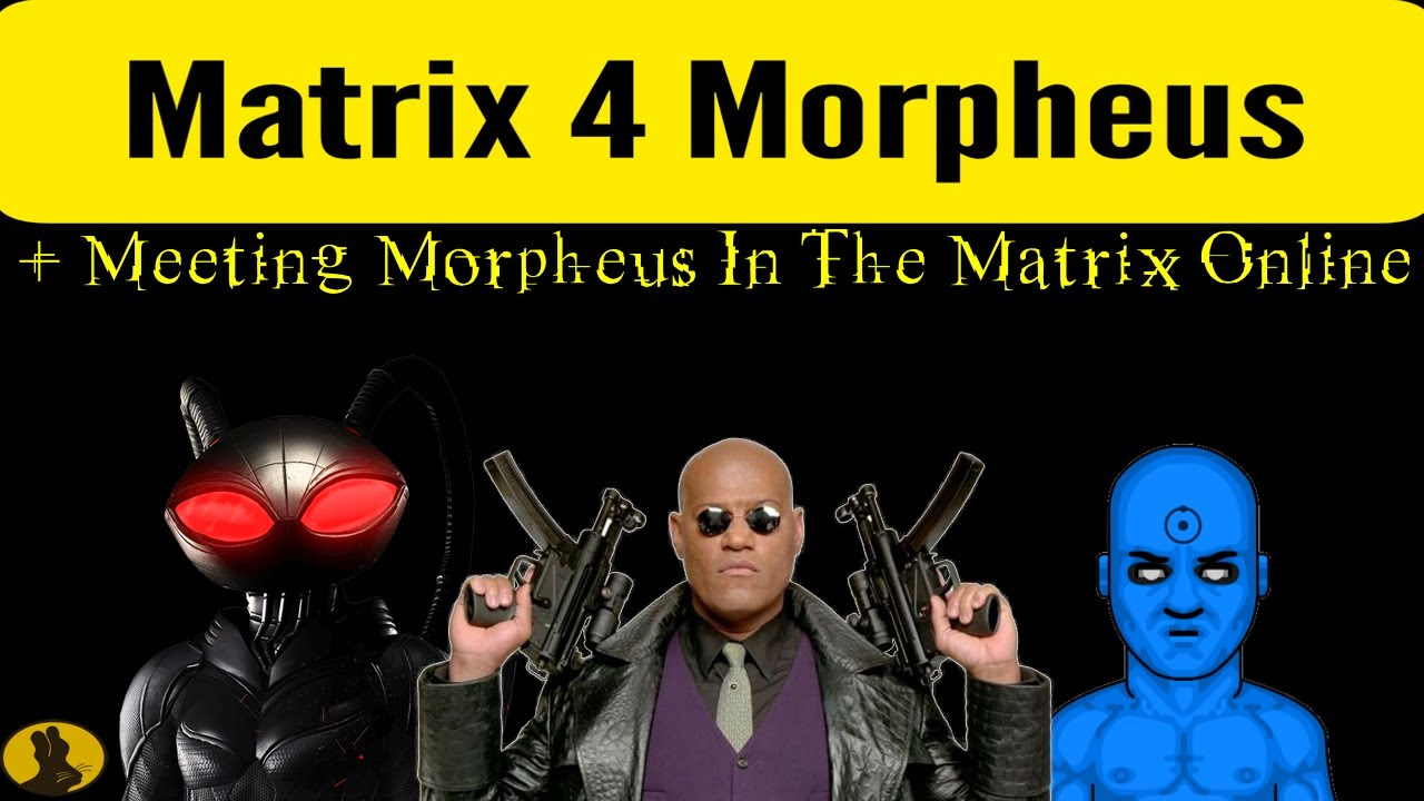 Yahya Abdul-Mateen II confirms Matrix 4 role as Morpheus