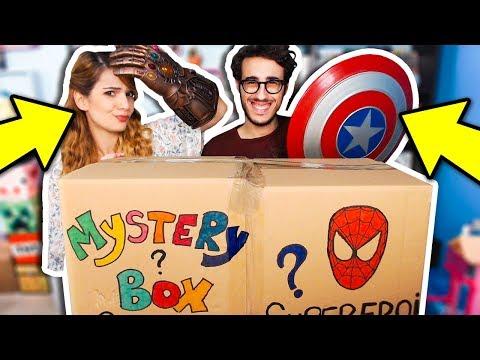 LA MYSTERY BOX DEI SUPEREROI GIGANTE!! (500€)