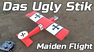 Durafly Das Ugly Stik Maiden Flight - Review Part 2