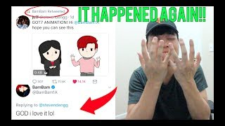 BAMBAM WATCHED AND RETWEETED MY GOT7 ANIMATION! (WE DID IT AGAIN) thumbnail