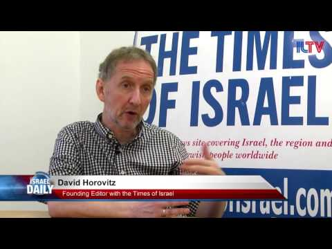 David Horovitz, Founding Editor with the Times of Israel - Sept. 1, 2016