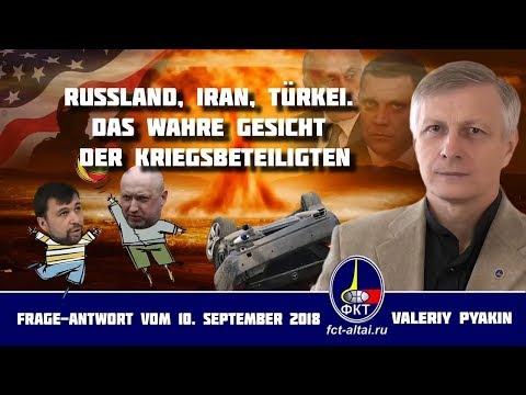Erdogan und die nicht ausgeschaltete Kamera in Teheran (10.09.2018 Valeriy Pyakin)