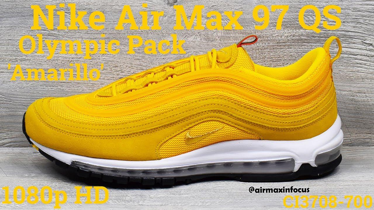 Nike Air Max 97 Qs Olympic Pack Amarillo Ci3708 700 2020 An