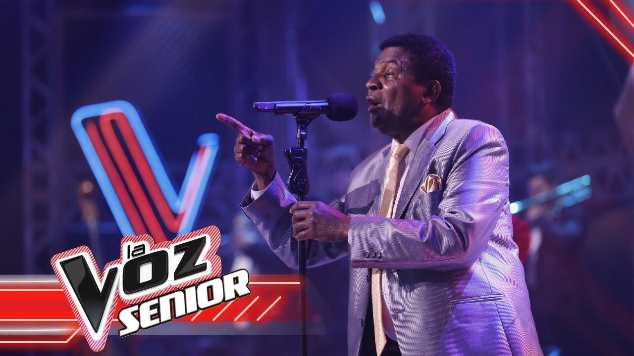 Emeterio canta en la Final  LaVozSeniorColombia 2021