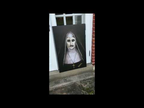 The Conjuring 2 The Nun James Wan Valak Painting Reproduction
