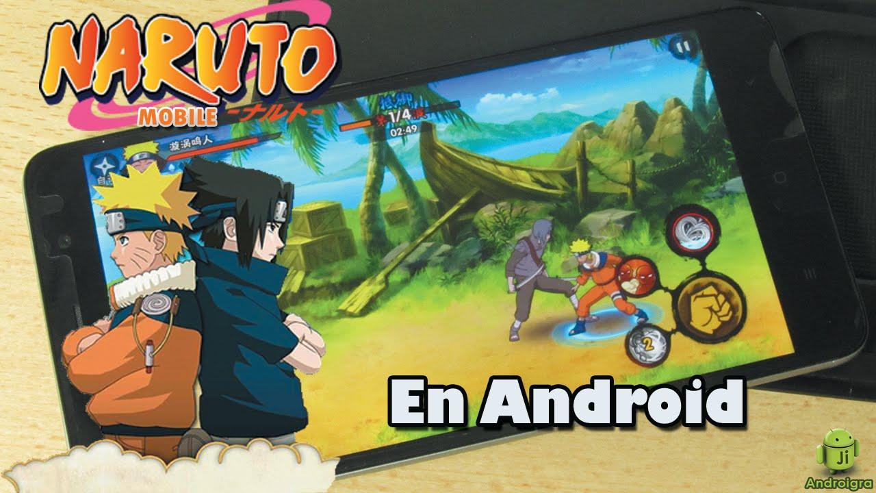 Naruto mobile apk para android 2016