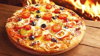ДОМАШНЯЯ ПИЦЦА быстро и легко ♥ Тесто для пиццы рецепт ♥ Homemade Pizza Video Recipe(Готовим дома очень быстро и вкусно пиццу с томатами, маслинами, салями и сыром. Очень вкусная домашняя пицца..., 2016-06-23T14:32:40.000Z)