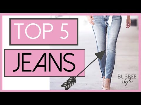 Top Five Most Popular Jeans of 2017