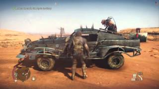 Mad Max Free Roam Gameplay #5 - Sand Storm (Mad Max Single Player Free Roam PS4)