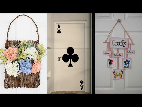 10 DIY Bedroom Door Décor Ideas