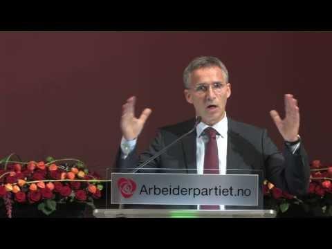 Jens Stoltenbergs tale til landsstyret, 17. september