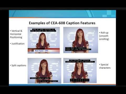 Internet Captioning Implications of the Multi-platform, Multi-Display Ecosystem