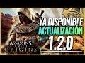 Assassin's Creed Origins | NUEVA ACTUALIZACIÓN 1.20 (DLC LOS OCULTOS, COFRES HEKA, MAPA, NIVEL 55)
