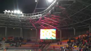 09.10.2014 Беларусь -Украина 0-2 весь стадион поет гимн Украины!!