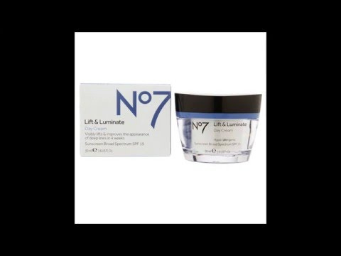 5af99fa098a Boots No7 Lift & Luminate Day Cream - YouTube
