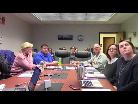 Mineral Point School Board 2.12.18