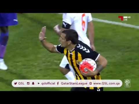 Primer gol de Emiliano Vecchio en Qatar Sports Club