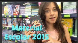 Meu Material Escolar 2015 - Carol Santina