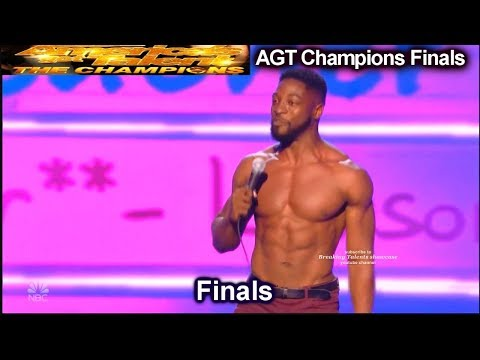 Preacher Lawson stand up comedian HILARIOUS & SHIRTLESS | America's Got Talent Champions Finals AGT