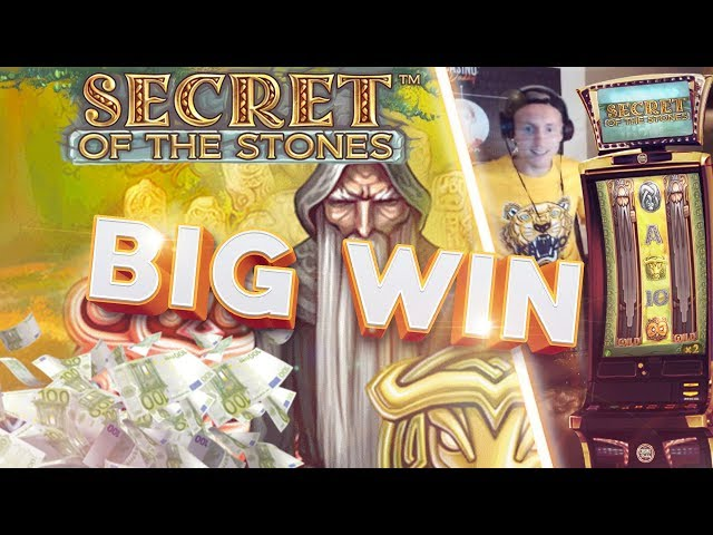BIG WIN!!!! Secret of the Stones Big win - Casino - Bonus Round (Huge Win)