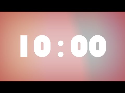 Simple 10 Minutes workout music timer