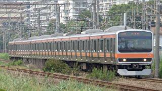 【初入線】E231系ケヨMU14編成 武蔵野線(貨物線)で試運転