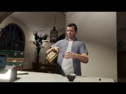 GTA V: Tracy Drunk!