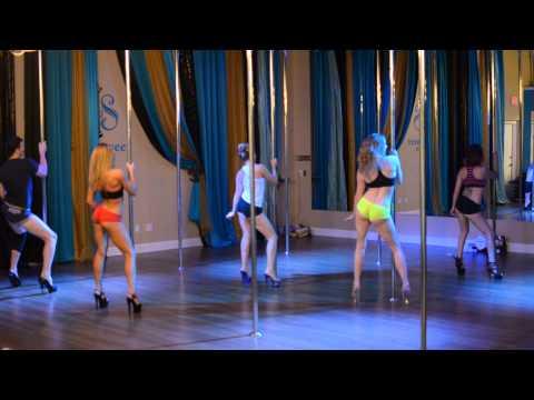 Worth It - Fifth Harmony Beginner Pole Dance Routine