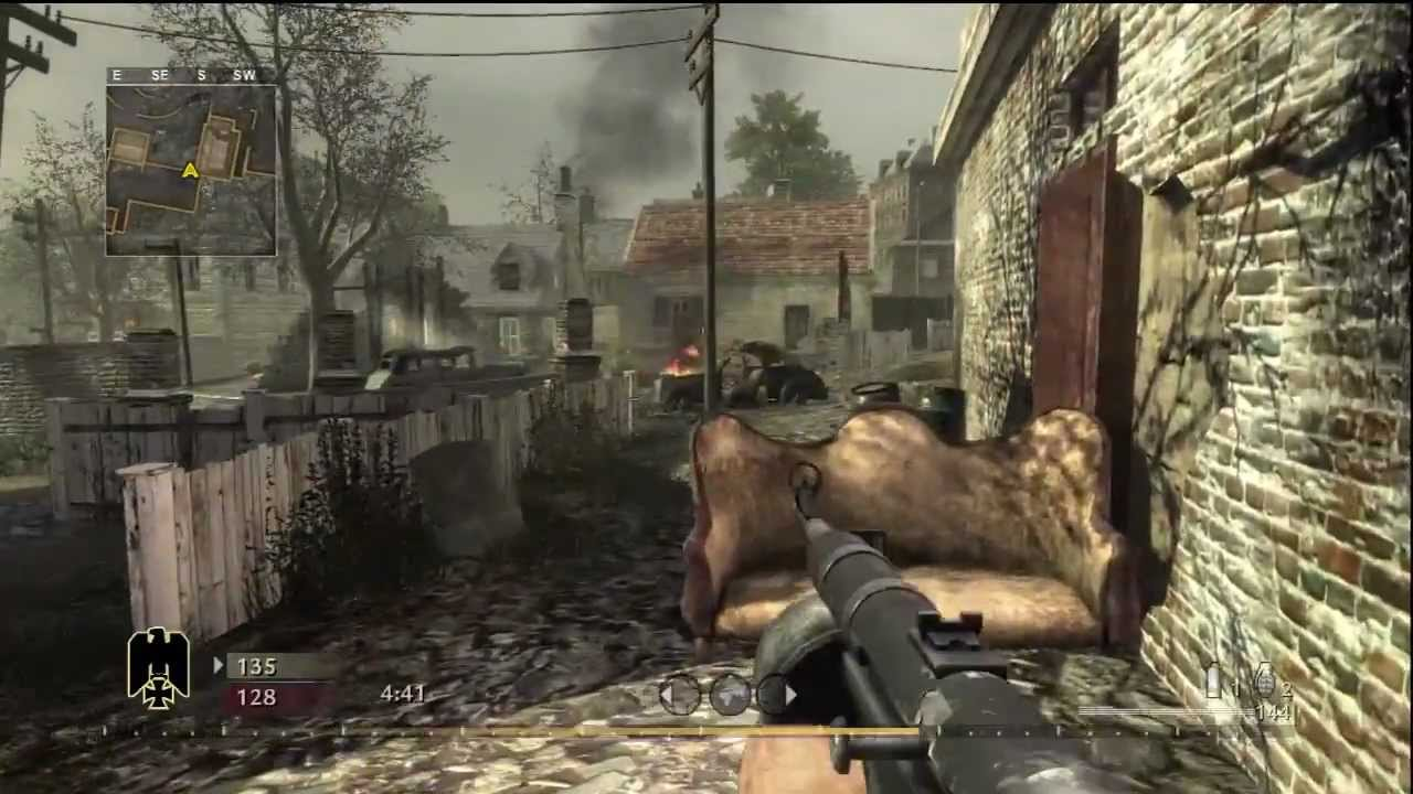 call of duty world at war xbox 360 multiplayer gameplay