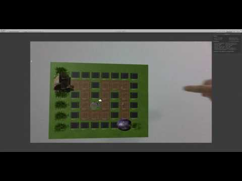 AR Tower Defense Using Finger Tracking