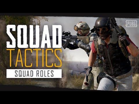 PUBG Squad Tactics - Squad Roles