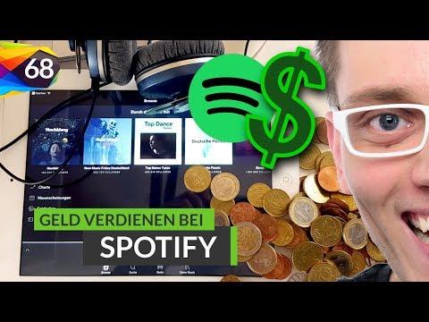 Spotify: Das verdient ein Künstler pro Klick 📈 Verdienst mit Music Streaming pro Play | Folge #68