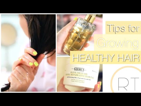 My Tips For Growing Healthy Hair