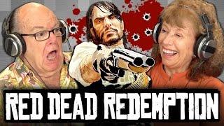 ELDERS PLAY RED DEAD REDEMPTION (Elders React: Gaming)