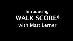 Introducing Walk Score with Matt Lerner