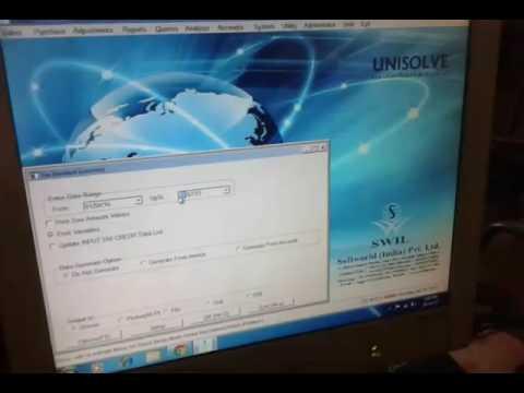 Convert vat to gst hsn code on unisolve software