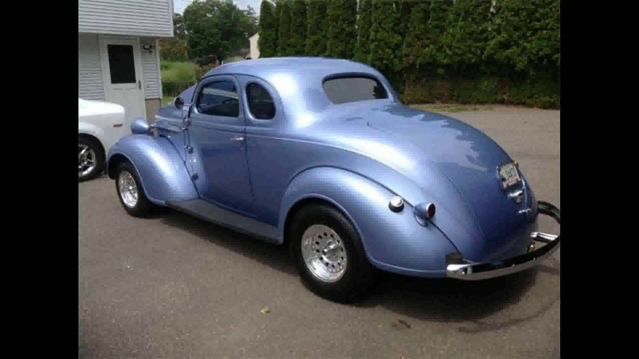 FOR SALE 1937 Plymouth P3 Coupe IN OLD SAYBROOK CT 06475 - YouTube