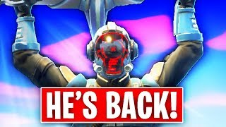 He's BACK!!  *NEW* ROCKET RETURNS to Fortnite.. (Season 6 ISLAND / CUBE EVENT EXPLAINED)