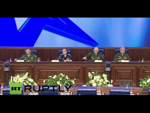 LIVE: Russian Defence Ministry holds briefing on armed forces' fight against terrorism